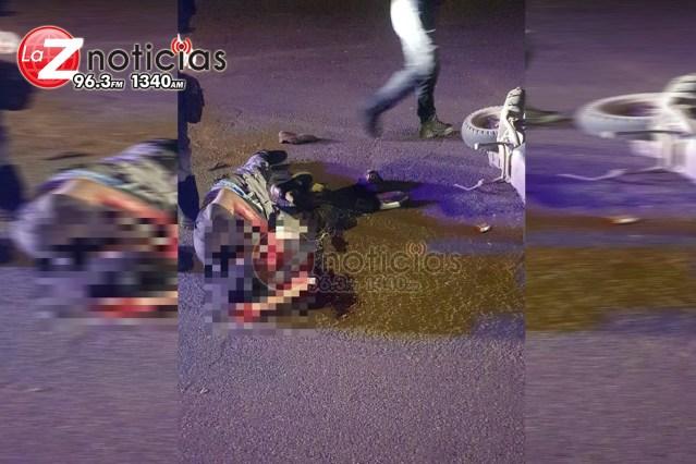 Motociclista se accidenta y queda herido en Huetamo