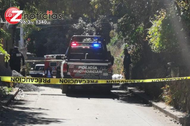 Encuentran cadáver de un hombre con picaduras de abeja en Uruapan