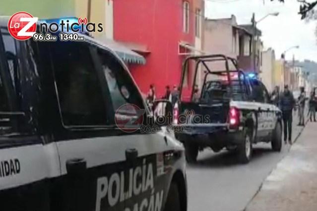 Morador de una casa queda herido al ser baleado