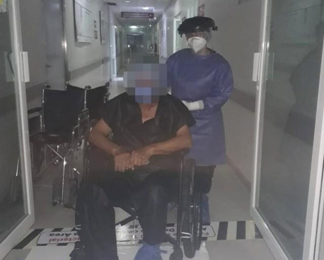 Regresan a casa los dos primeros pacientes de COVID-19 de 2021