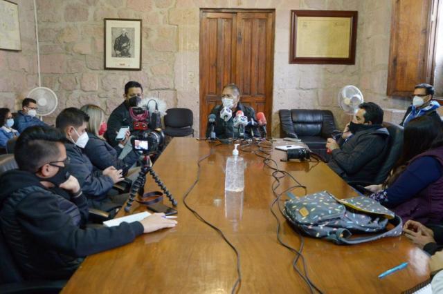 Garantiza Gobierno de Morelia aplicación de medidas sanitarias para mitigar efectos de pandemia