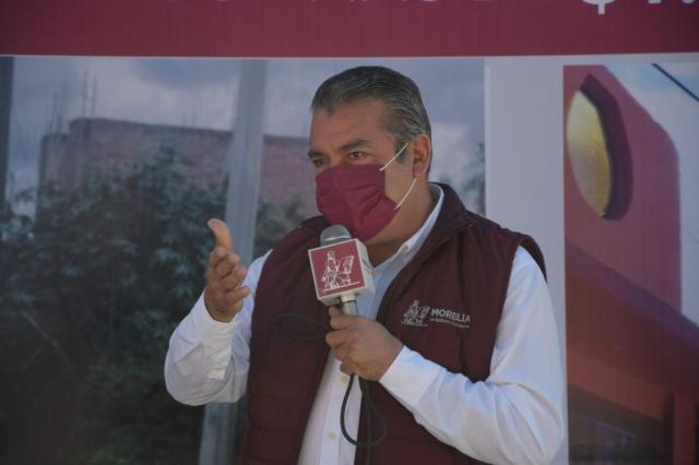 Gobierno de Raúl Morón entrega  infraestructura urbana por 25 mdp, en Tacicuaro y col. Satélite