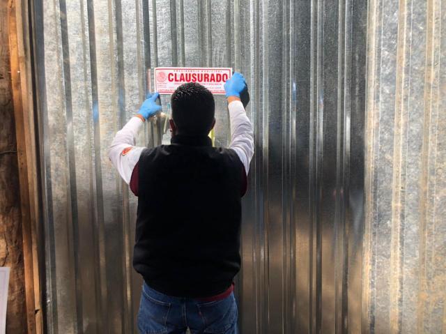 Clausura Gobierno Municipal inmueble tras reporte de maltrato animal