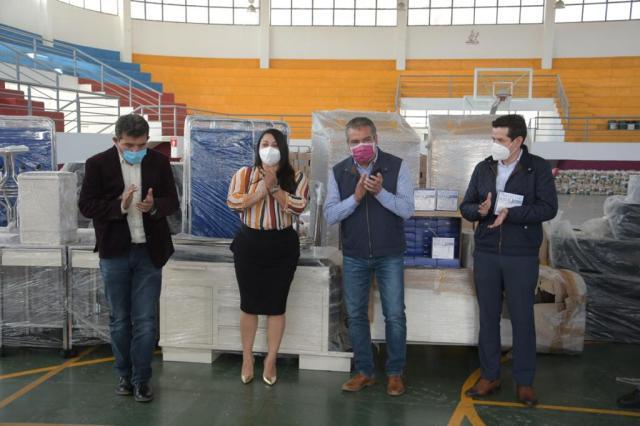 A través de donativo, fortalecerá Gobierno de Morelia unidades médicas municipales