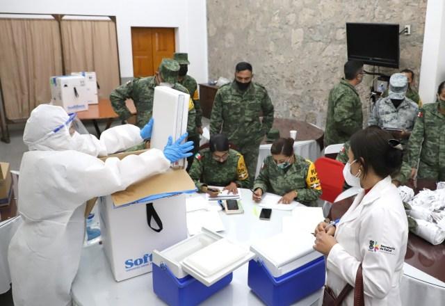 Se aplicaron en Michoacán 14 mil 637 dosis de vacuna anti COVID-19