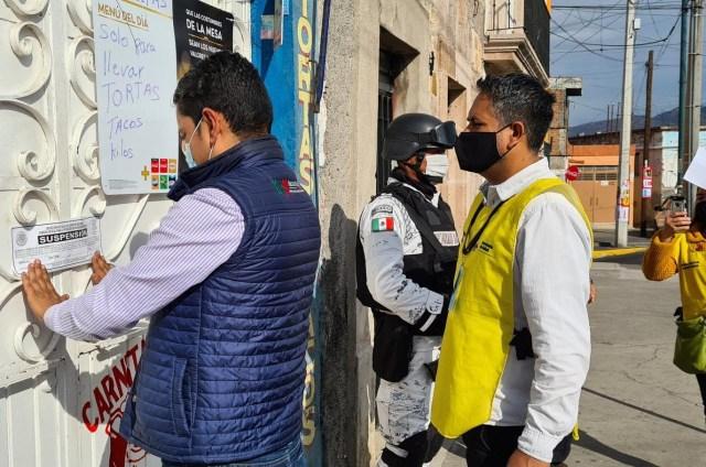 Suman 374 establecimientos suspendidos por los Guardianes de la Salud