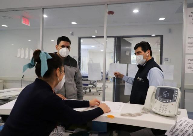 Mantiene SSM evaluación permanente de capacidad hospitalaria