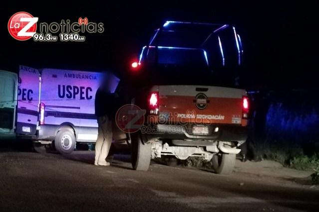 Encuentran a hombre asesinado y cubierto con piedras en Huandacareo