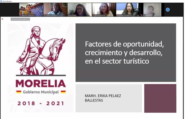 Gobierno de Morelia continuará con capacitación al sector turístico en 2021
