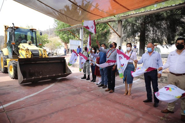 Invierten más de 10 mdp en obras para Susupuato