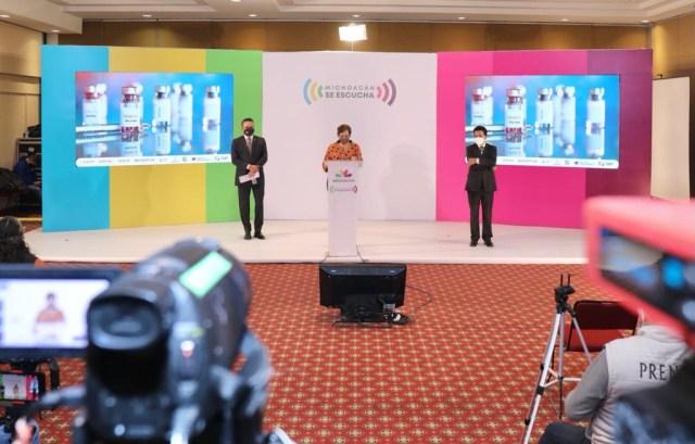 Michoacán, listo para vacunar a adultos mayores contra COVID-19: Silvano