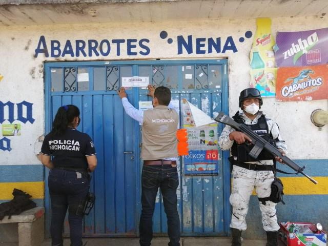 Suspendidos 3 establecimientos en Lagunillas por incumplir decretos