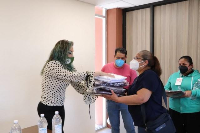 Dona UTM overoles a personal de salud del ISSSTE