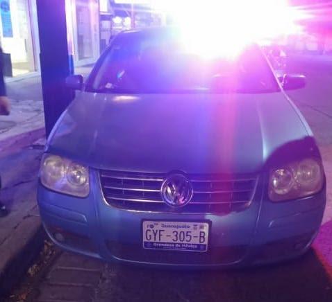 Recupera SSP vehículo con reporte de robo, en Morelia