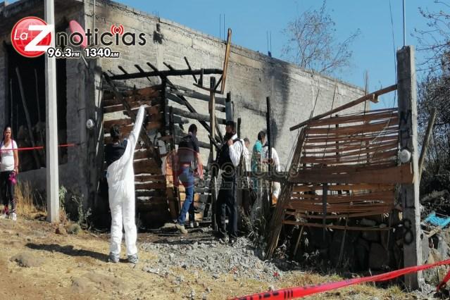 Muere habitante de domicilio incendiado en colonia Ciudad Jardín, Morelia