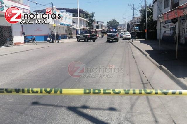 Se mantiene fuerte operativo en Uruapan tras agresión contra Policía Municipal