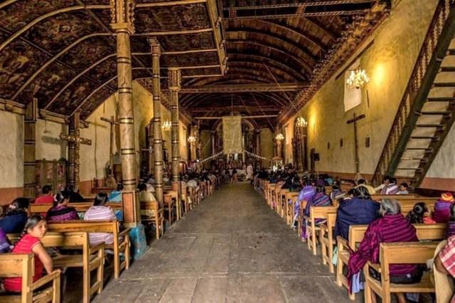 Casi 500 años de historia y cultura, reducido a cenizas en incendio de Templo de Nurío