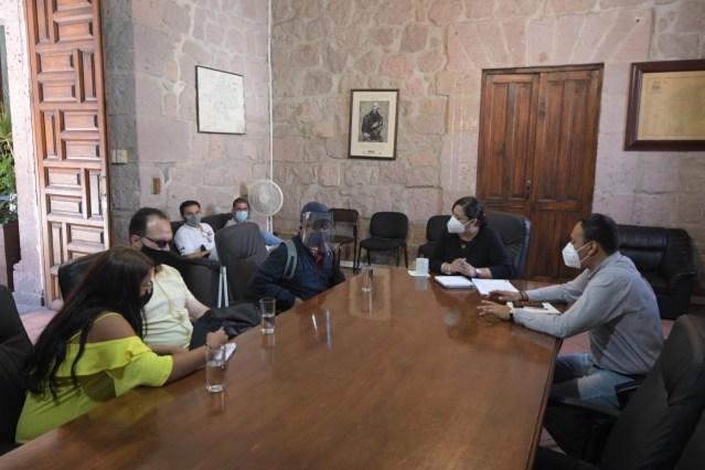 Atiende Gobierno de Morelia a miembros de la Asociación de Invidentes del Estado