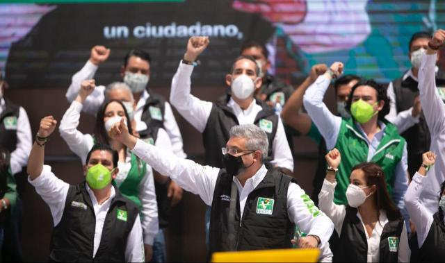 Morenistas, bienvenidos al proyecto de Magaña de la Mora por Michoacán