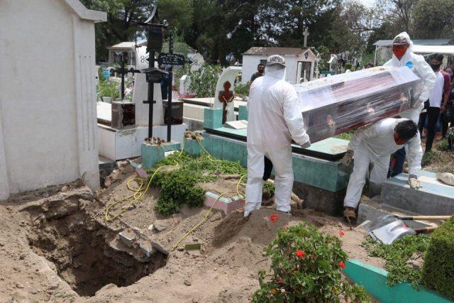 México acumula 203 mil 854 muertes por Covid-19