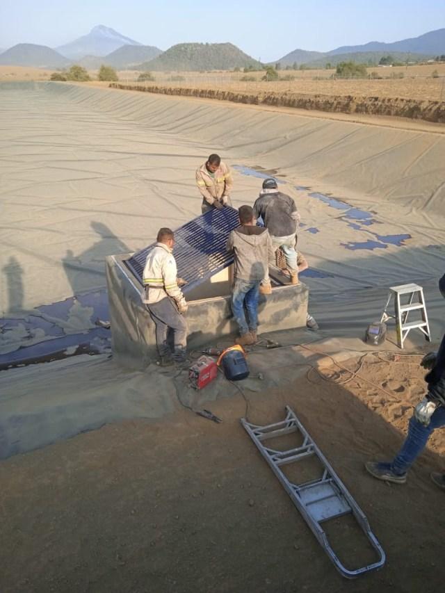 Concluye construcción de sistema de tratamiento en San Felipe de los Herreros