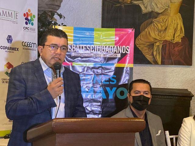 """""""Un bien común por Michoacán"""" sociedad civil, realizará debate ciudadano."""