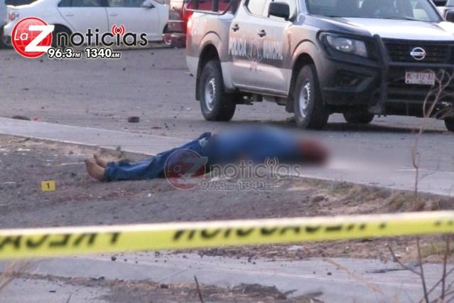 Delincuentes asesinan a un hombre en el Fraccionamiento Acanto II
