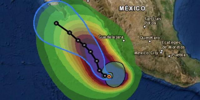 «Enrique» ya es huracán categoría 1