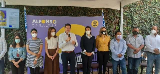 Alfonso Martínez Alcázar promete enfocarse en dar resultados a la ciudadanía