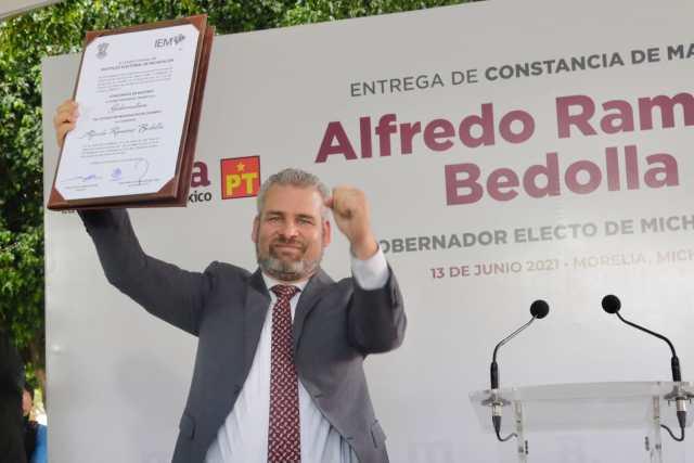 Alfredo Ramírez Bedolla se convierte en gobernador electo de Michoacán
