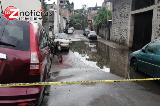 Taxista es acribillado en la colonia Casa del Niño, en Uruapan