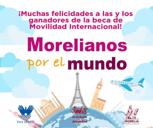 """Gobierno de Morelia selecciona a 83 jóvenes voluntarios, """"Morelianos por el mundo"""""""
