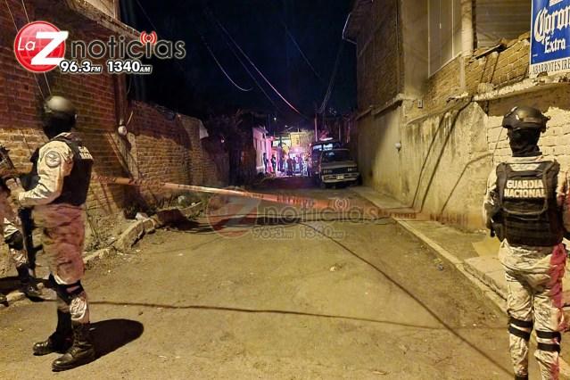 En Canindo mariachi es asesinado a balazos, su madre queda herida