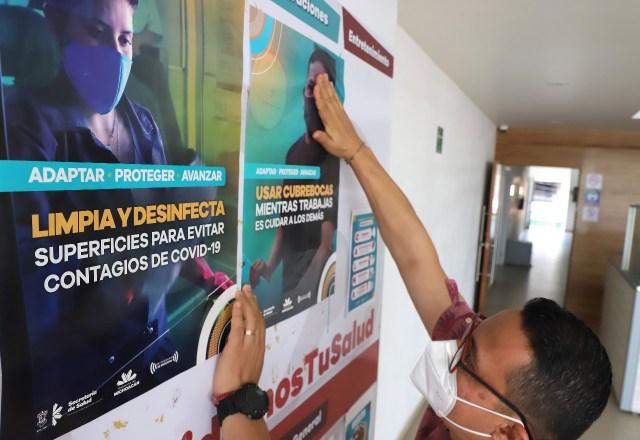 Más de 137 mil materiales de promoción a la salud sobre COVID-19, ha distribuido la SSM