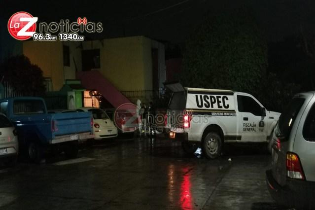 Hombre es asesinado frente a su domicilio en el Infonavit Adolfo López Mateos