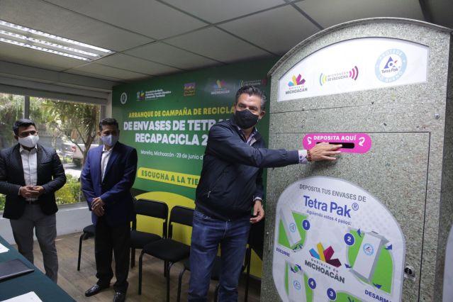 Lanza Gobierno del Estado campaña de reciclaje