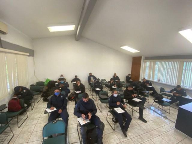 Se capacita personal de la Policía Michoacán para acreditar el CUP: SSP