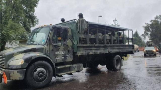 Llegan 700 elementos de la Guardia Nacional a Uruapan