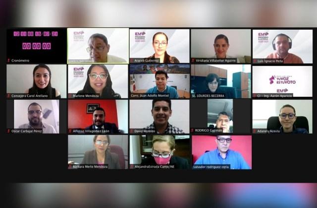 Presenta IEM informes finales de monitoreo de radio, TV, voto extranjero y debates