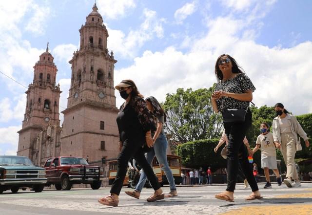 Se mantiene Michoacán en Semáforo Naranja