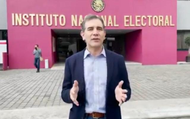 Llama el presidente del INE a votar en la Consulta Popular de este domingo