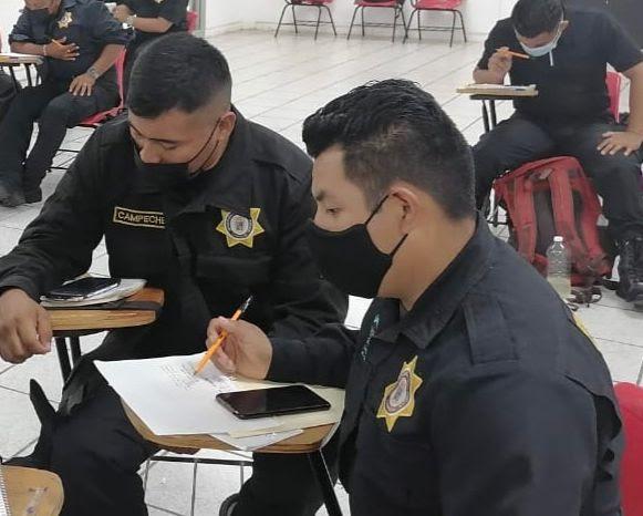 Inicia IEESSPP capacitación de policías estatales en Campeche