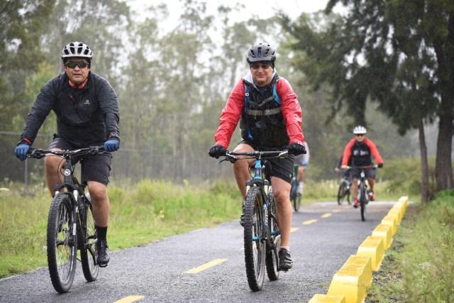 Reparada y lista, la ciclovía Morelia-Pátzcuaro