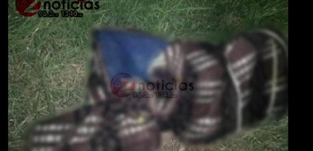Abandonan un cadáver encobijado en las calles del Fraccionamiento Cosmos
