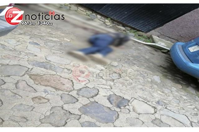 Empistolado es acribillado a tiros en Patambam