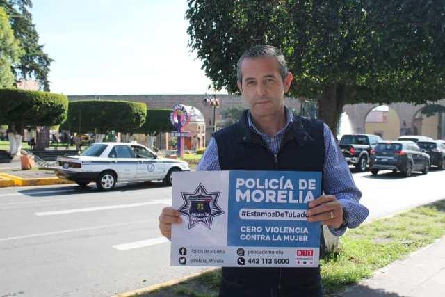 El ser humano será el centro de la estrategia de seguridad en Morelia: Comisionado