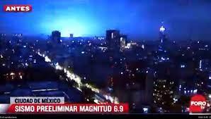 ¿Por qué se suscitan las «luces de terremoto» durante los movimientos telúricos como el de anoche?