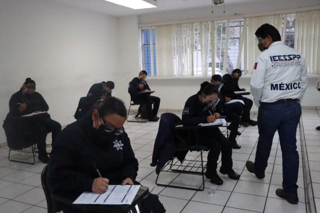 Imparte IEESSPP curso de especialización para policía municipal de Salvador Escalante