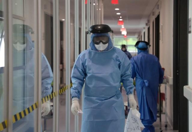 Al 60.92 por ciento, ocupación hospitalaria por COVID-19 en LC