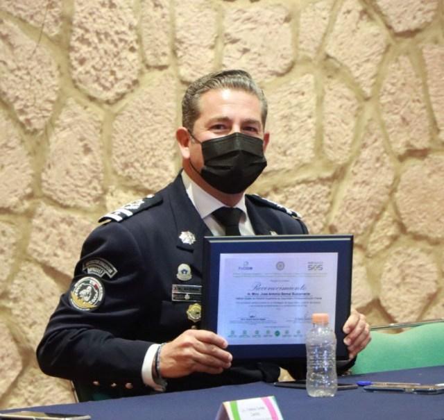 Reconocen Mesas de Seguridad y Justicia consolidación de educación policial en Michoacán